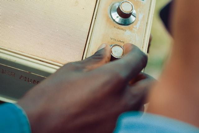 volume nob on an old radio